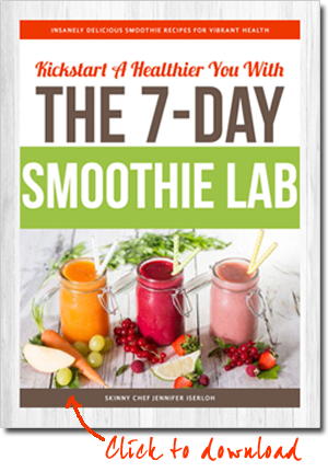 Click to download your free Smoothie Lab booklet!