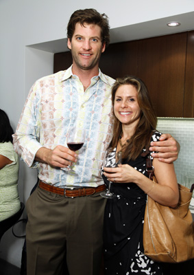 Jennifer Iserloh with Karl Wente