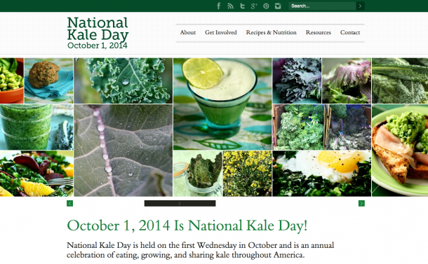 National Kale Day 2014