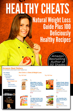 Healthy Cheats Now Amazon Top 100 Book