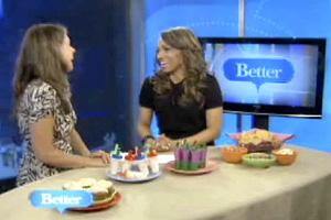 Jennifer on Better TV, discussing Super Foods