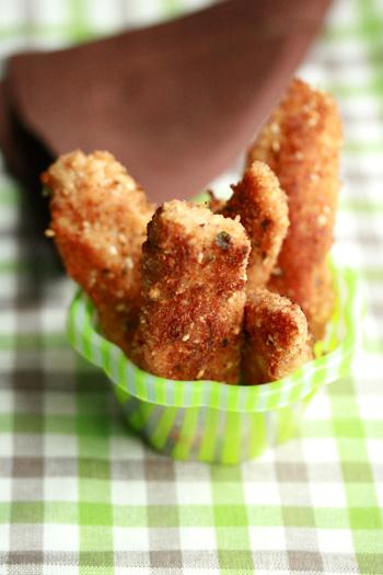 Healthy Buttermilk Chicken Fingers