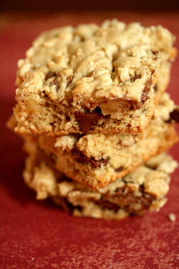 Whole Wheat Cookie Bars