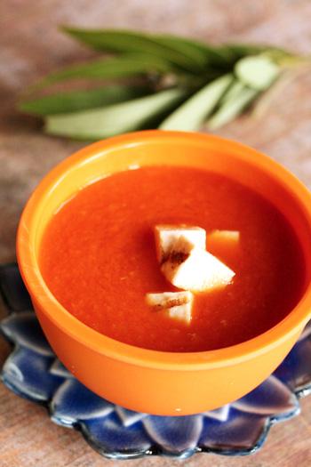 Cream of Tomato Soup - Skinny Chef
