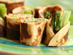 Crepes With Vegetarian Fillings
