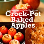 Crockpot Baked Apple Recipe Booklet