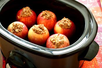 Baked Crock-Pot Apples