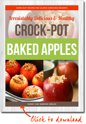 Click to download your free Crock-Pot Baked Apples recipe booklet!