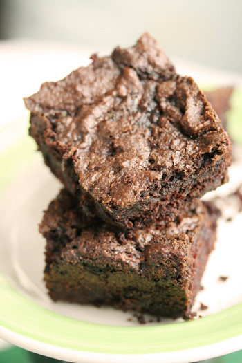 Double Zucchini Brownies