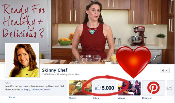 5000th Skinny Chef Fan