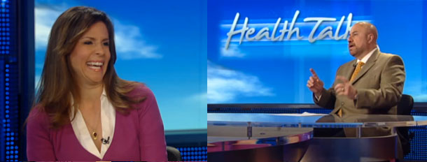 Skinny Chef Jennifer Iserloh on Fox News Health Talk With Dr. Manny Alvarez