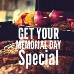 40% OFF Memorial Day Special