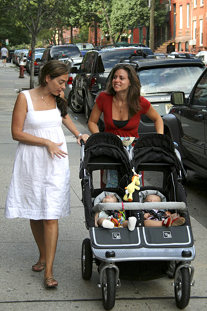 Bern and Jen with Buggy