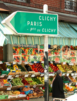 Fruit Stand in France