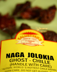 Bag of Dried Naga Jolokia