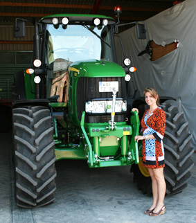 brand new tractor