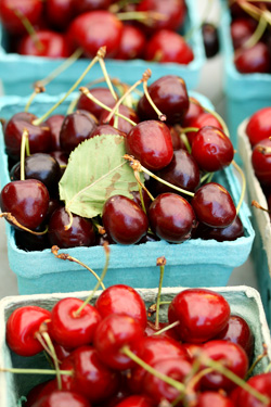 Cherries from the Farmer's Market