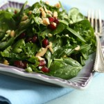 Peanut Pomegranate Salad