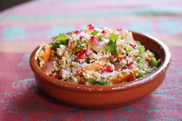 pomegranate fried rice