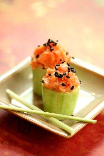 Spicy Tuna Cups