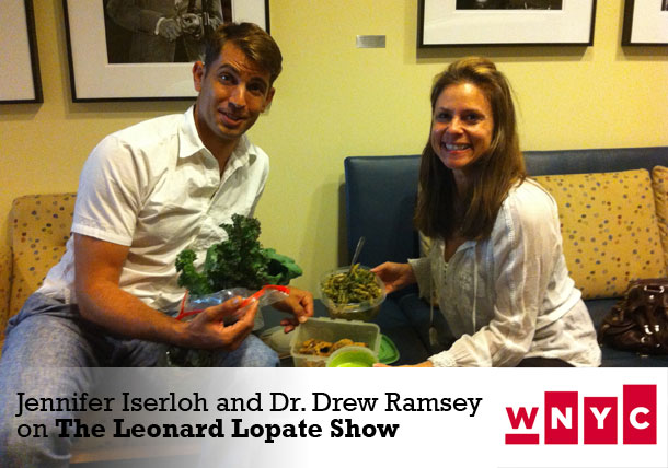 With Drew Ramsey on Leonard Lopate Show