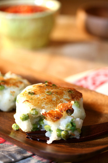Spiced Potato Cakes with Tomato Ginger Sauce