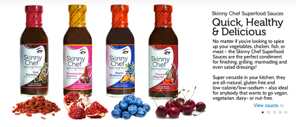 Superfood Sauces by Skinny Chef