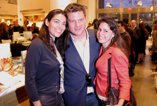 Jen Iserloh and Tyler Florence