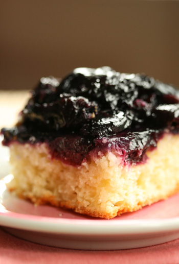 upside down cherry cake