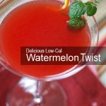 96-Calorie Watermelon Twist Cocktail