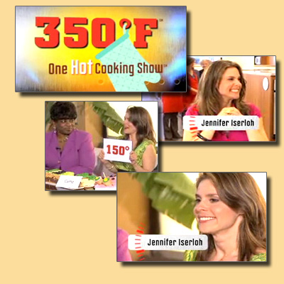 Jennifer on 350F - One Hot Cooking Show