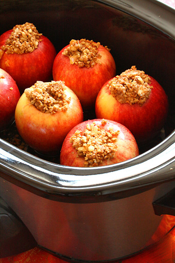 Crock Pot Baked Apples Skinny Chef