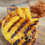 Grilled Mango with Balsamic Glaze