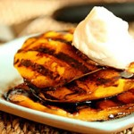 Grilled Mango with Balsamic Vinegar