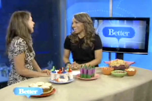 Jennifer on Better TV, discussing Super Foods
