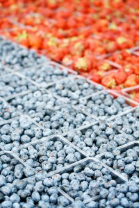 Farmer's Market Blueberries