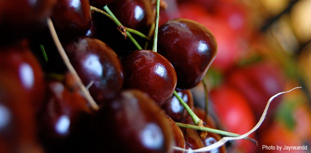 Healthy Benefits of Cherries