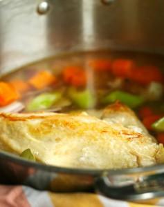 homemade chicken broth recipe