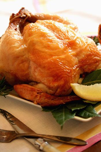 Roasted Lemon Chicken à la Nicoise
