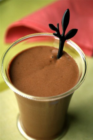 Chocolate Avocado Milkshake