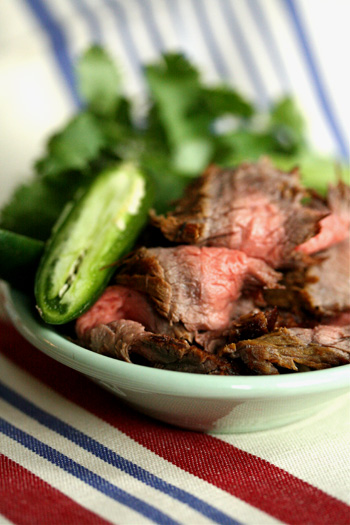 Grilled Jalapeno Flank Steak