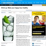 Make Your Happy Hour Healthier