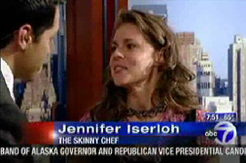Jennifer on WABC, discussing healthy budget meals