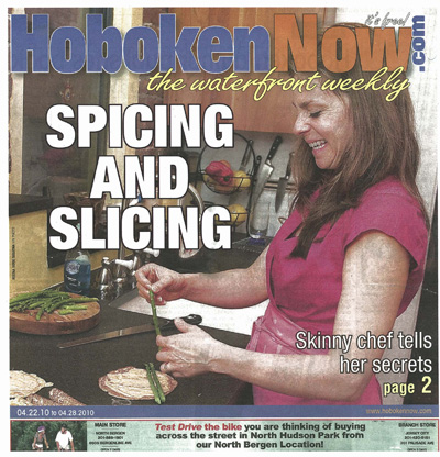 Skinny Chef Makes The Cover of HobokenNow