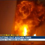 Kitchen Fire: How To Put Out A Grease Fire [video]