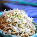 Lemon Cabbage and Noodles