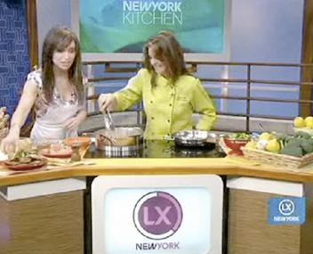Skinny Chef Jennifer Iserloh on NBC's LX New York