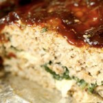 Meatloaf Stuffed With Spinach