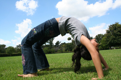 Backbend Girl