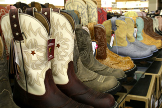 Many Cowboy Boots